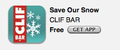 Clif Bar Save Our Snow